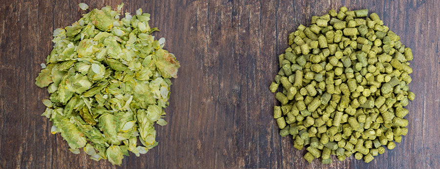The Difference Between Whole Leaf Hops and Pellet Hops
