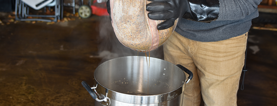 How to Brew in a Bag Heat Resistant Gloves