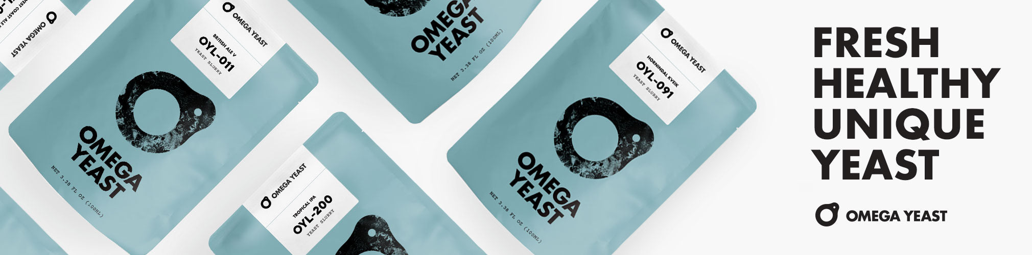 Omega Yeast Liquid Yeast Collection Page Banner