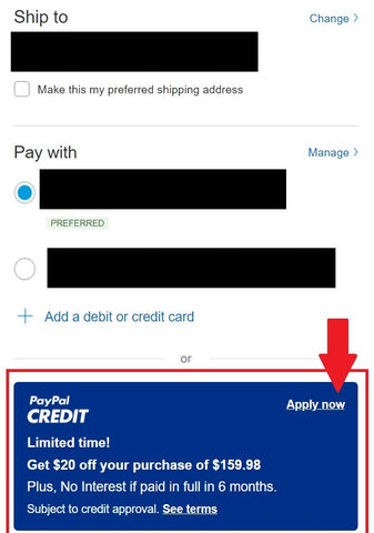 PayPal Credit: Buy Now, Pay Over Time