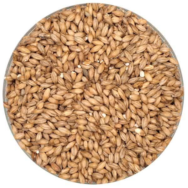 Detail view of Simpsons Peated Malt