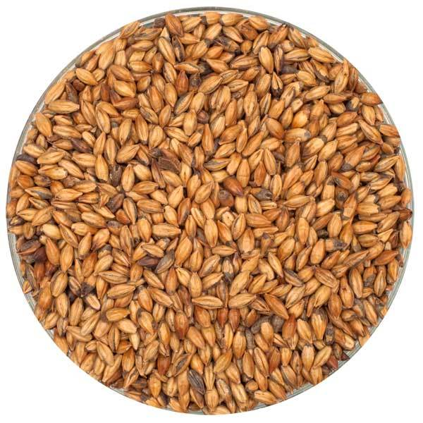 Crisp Brown Malt in a bowl