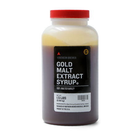 1.5 Lbs. Briess Gold Malt Extract Syrup (LME)