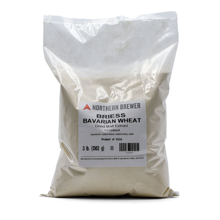3 pound bag of Bavarian Wheat Dry Malt Extract