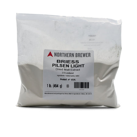 Pilsen Dry Malt Extract in a 1-pound bag