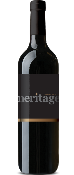 RJS Cru International's Okanagan Meritage wine bottle