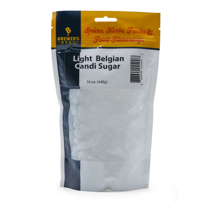 Light Belgian Candy Sugar - 1 lb Bag