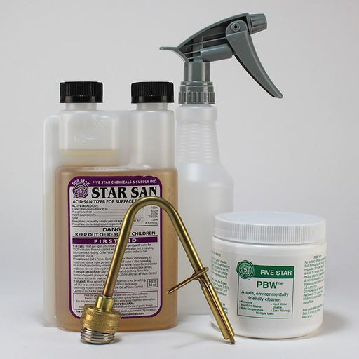PBW, Star San, Jet washer, Spray Bottle cleaning kit