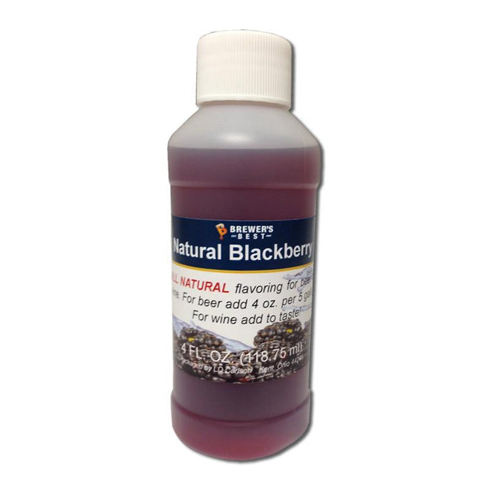 Bottle of Natural Blackberry Flavoring