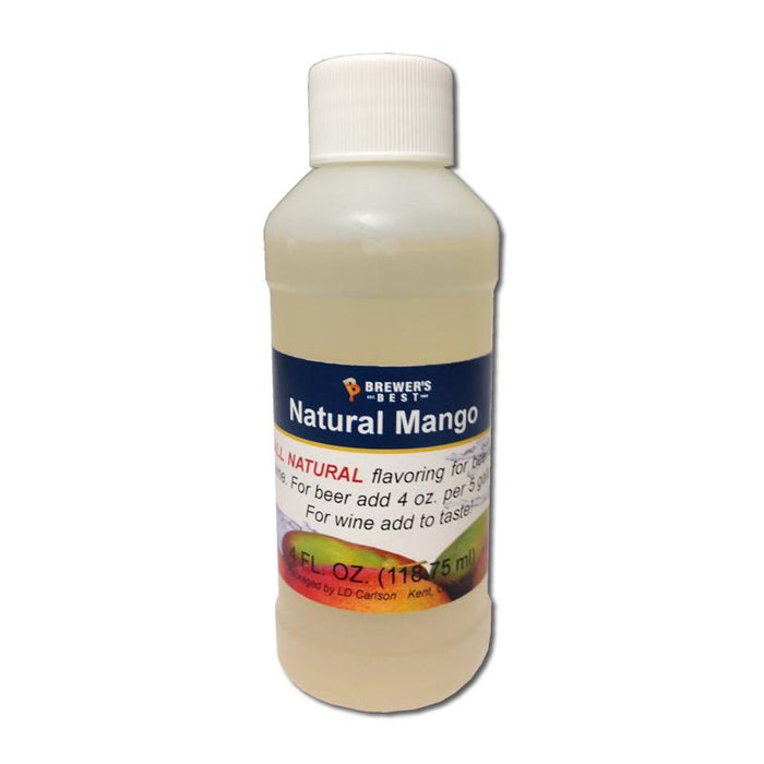 Bottle of Natural Mango Flavor Extract