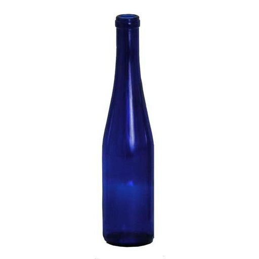 Cobalt Blue Stretch Hock Bottles, 375mL