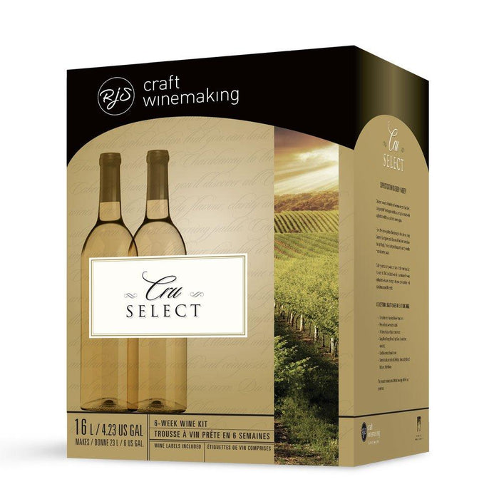 Box image for RJS Cru Select Australian Viognier Pinot Gris wine kit