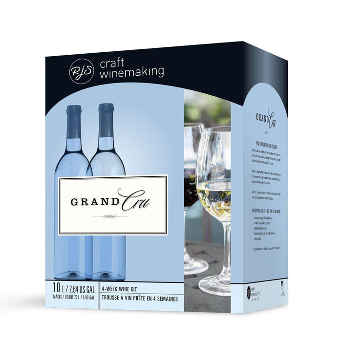 Box design for the RJS Grand Cru - Chardonnay wine Kit