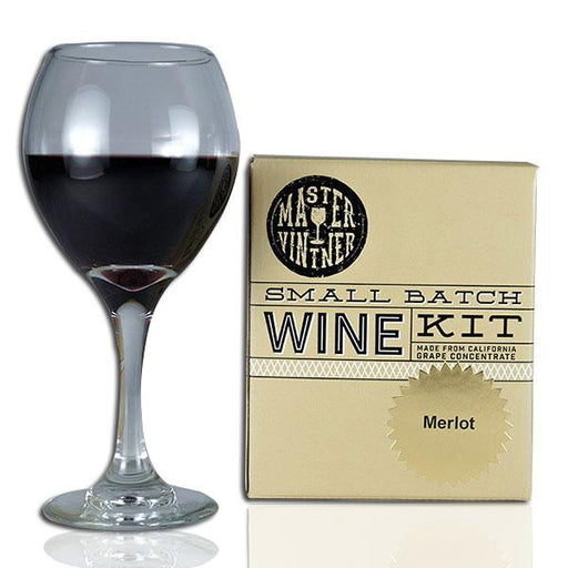 Merlot - Master Vintner Small Batch Wine Recipe Kit