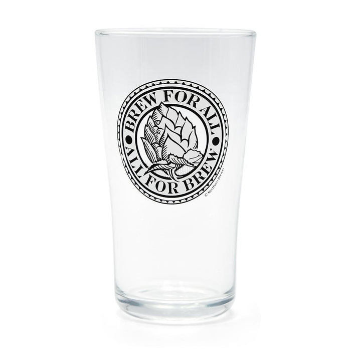 Deluxe Brew for All Pint Glass with Nucleation Point