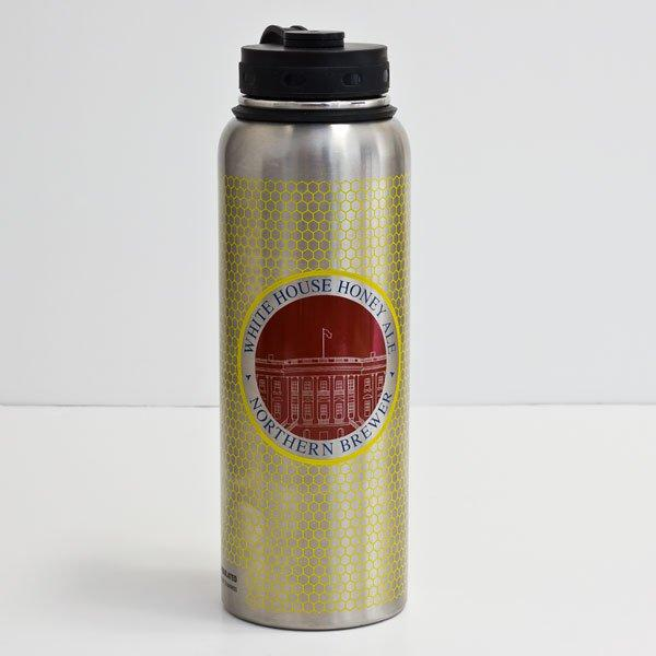 White House Honey Ale Stainless Steel Growler