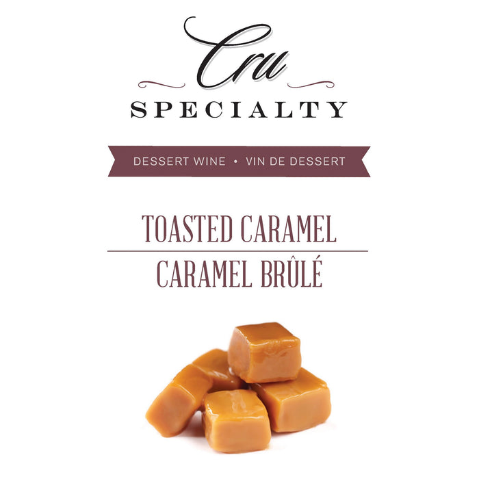 RJS Cru Specialty - Toasted Caramel Dessert Wine - Label