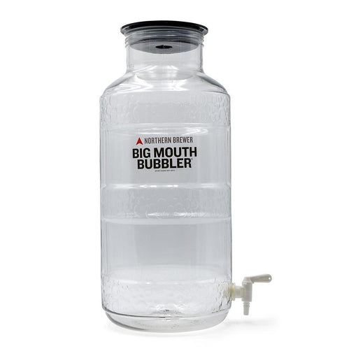 Siphonless Big Mouth Bubbler® - Ported 5 Gallon Plastic Fermentor