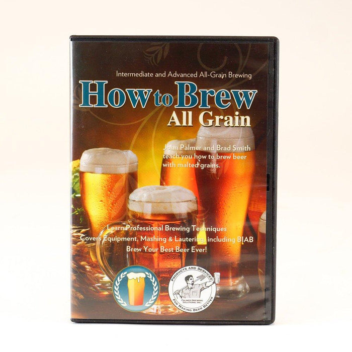 How to Brew All Grain DVD case's front cover