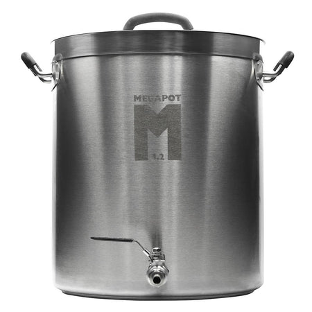 30 Gallon MegaPot 1.2 Brew Kettle With Ball Valve (no Thermometer)