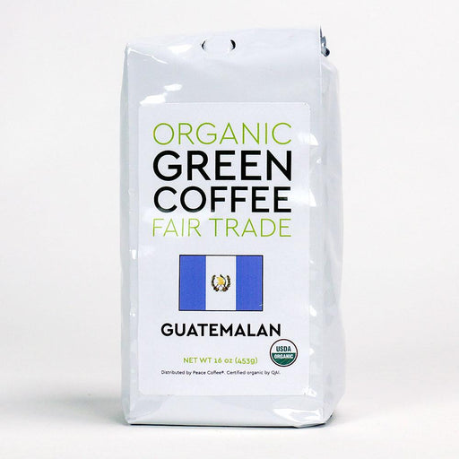 Peace Coffee Guatemalan Fair Trade Organic Green Whole Coffee Beans - 16oz