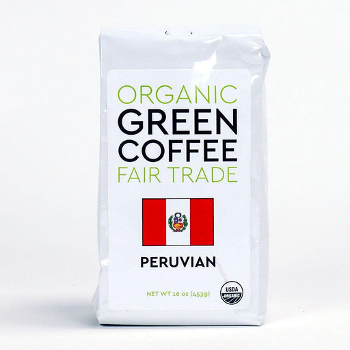 Peace Coffee Peruvian Fair Trade Organic Green Coffee Beans - 16oz