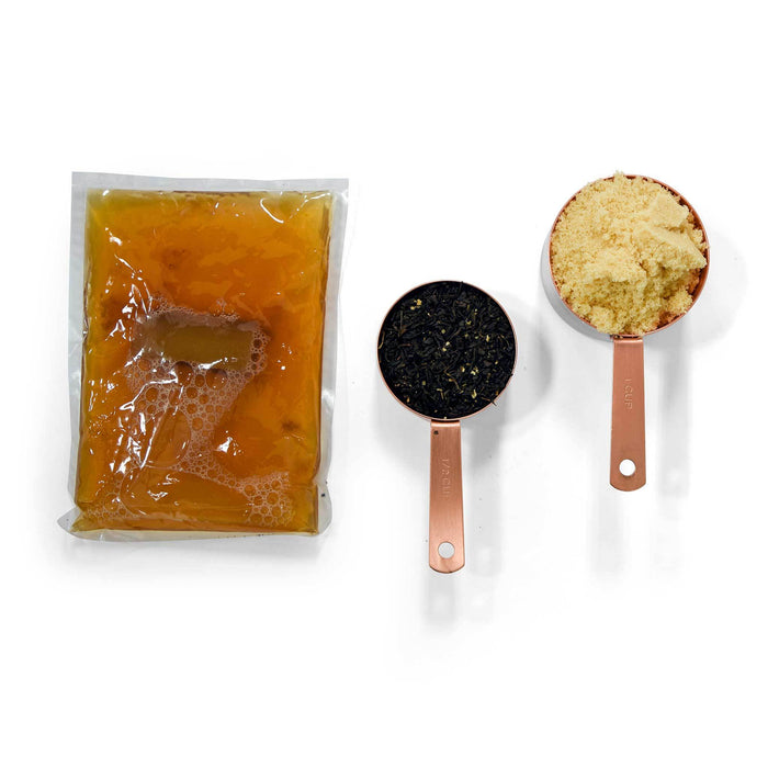 Belgian Berry Kombucha Kit - Includes: tea blend, proprietary sugar blend, freshly harvested SCOBY