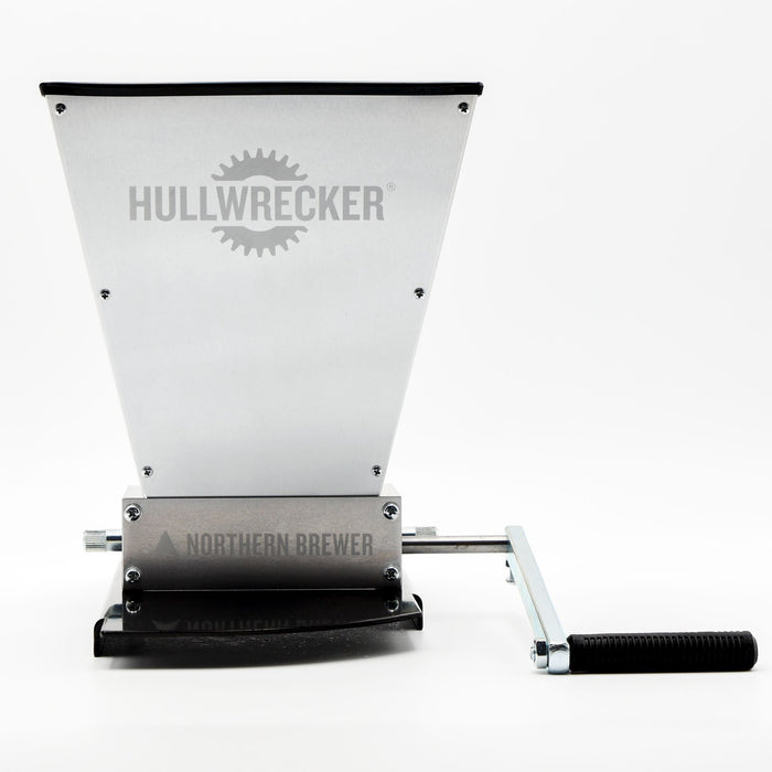 Hullwrecker 2-roller Grain Mill & Base