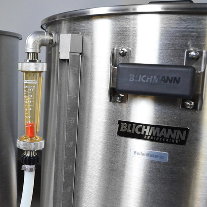 Blichmann sight glass for horizontal brewing system