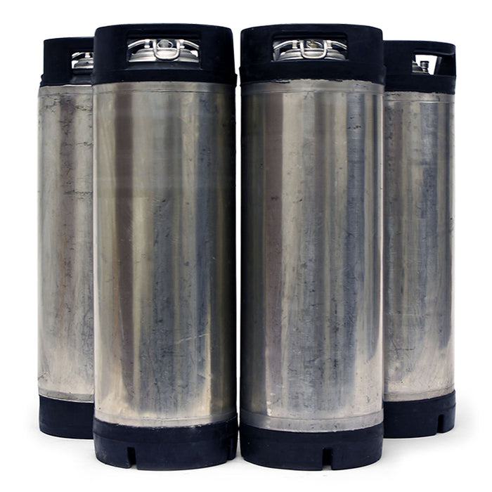 Reconditioned Kegs - Four Pack of 5 Gallon Ball Lock Kegs