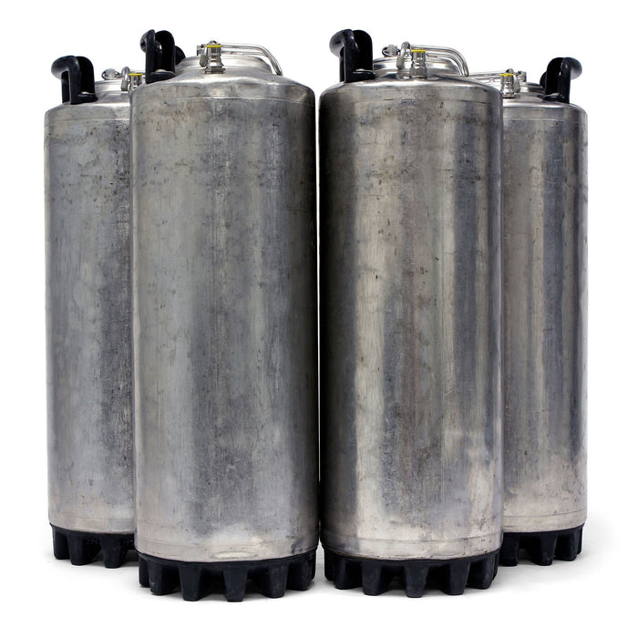 Reconditioned Kegs - Four Pack of 5 Gallon Ball Lock Cornelius Kegs