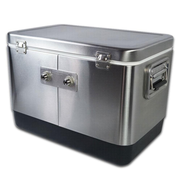 Coldbreak Stainless Jockey Box - 2 Tap