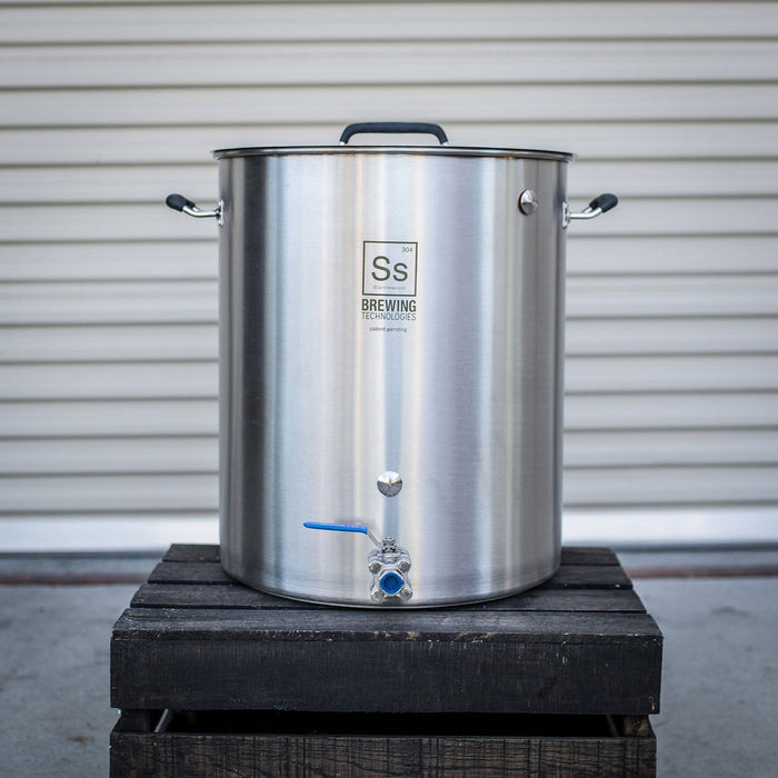 Ss Brewtech Stainless Steel Brew Kettle 30 Gallon