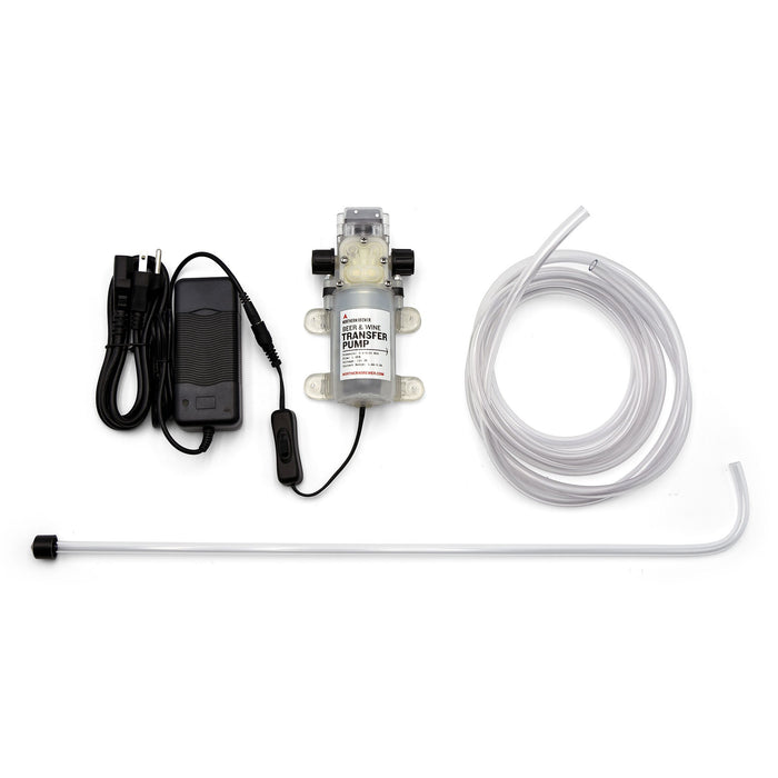 Anti Gravity traisfer pump kit, self priming pump including racking cane and tubing.
