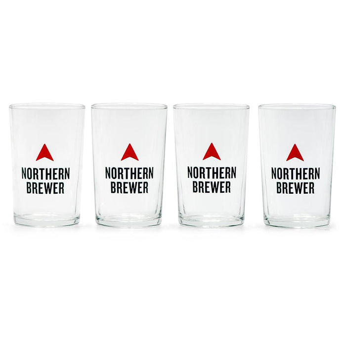 Northern Brewer 4 pack of 5 oz. Taster Glasses