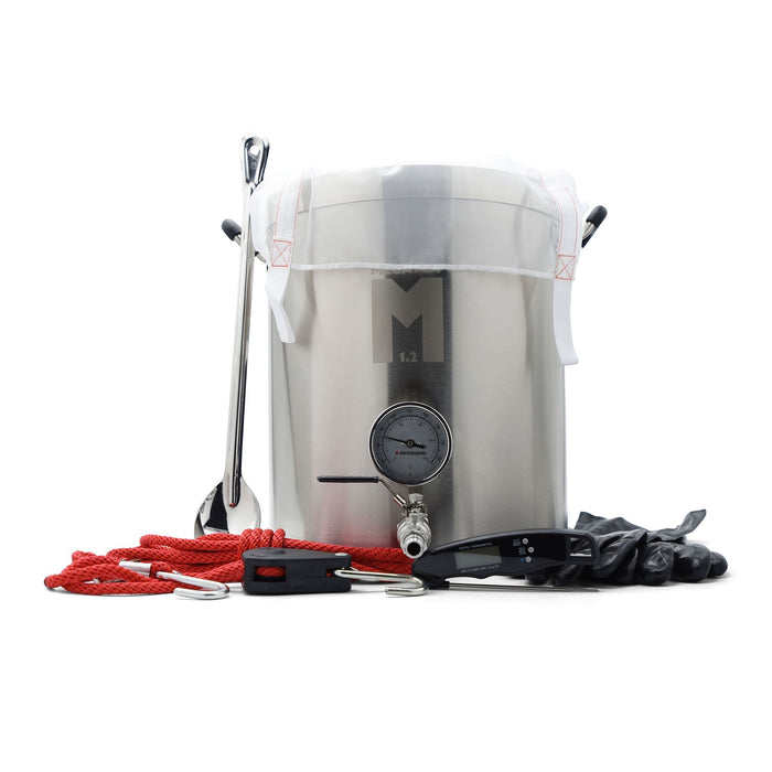 brew kettle with northern brewer biab starter kit
