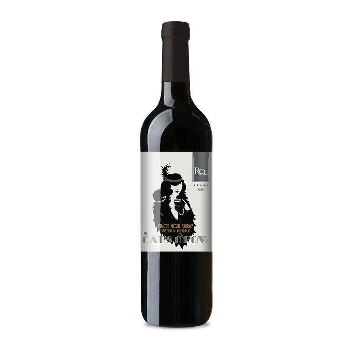 The Cat's Meow Limited Release Wine bottle