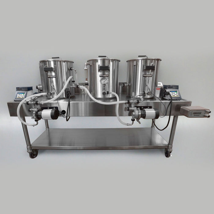 The Blichmann Complete Gas RIMS Horizontal Brewing System