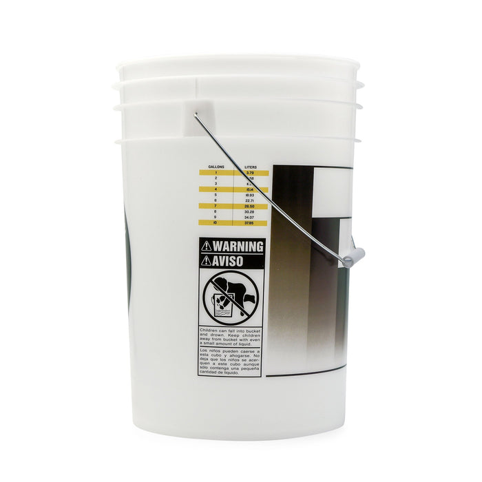 Translucent 6.5 Gallon Bucket - Drilled Side