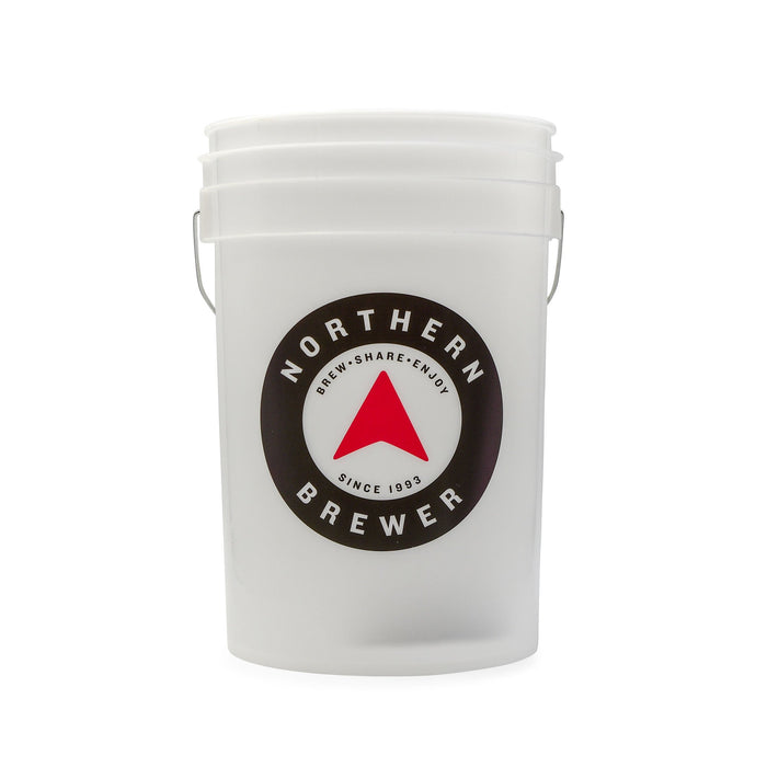 Transluscent 6.5 Gallon Bucket with Northern Brewer logo