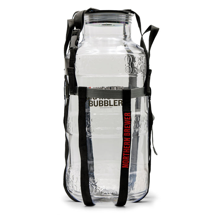 Universal Harness on the 5 Gallon Plastic Big Mouth Bubbler