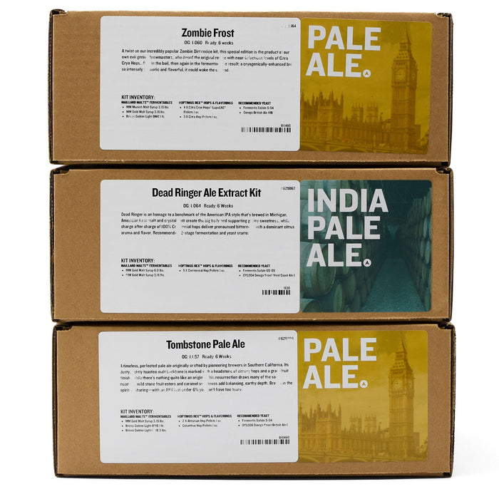Hop Monster IPA Extract Beer Variety Pack Boxes