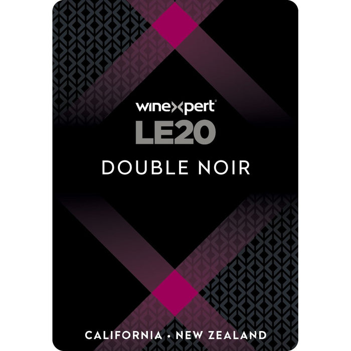 Winexpert Limited Edition LE20 Double Noir Red Wine label
