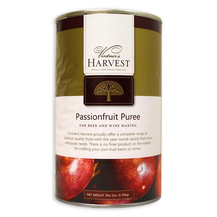 3-pound can of Vintner's Harvest Passionfruit Puree