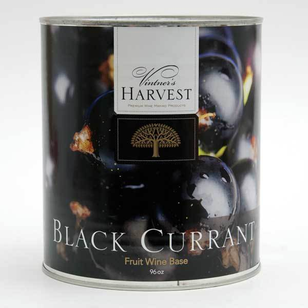 Vintner Harvest Black Currant in a 96-ounce can
