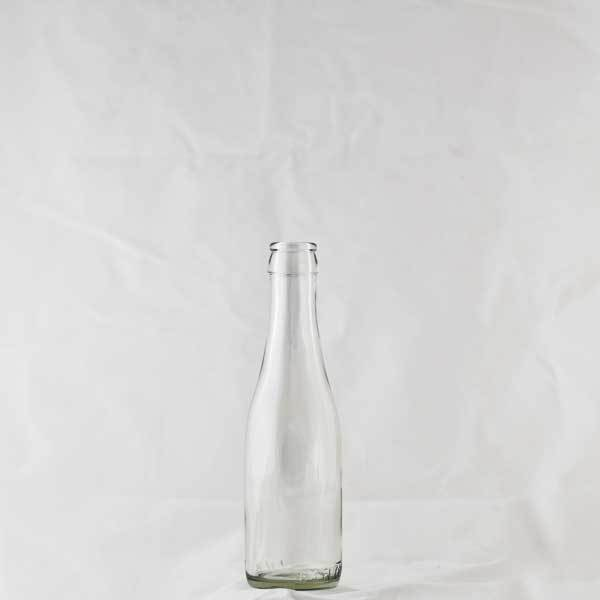 187 ml Clear Champagne Bottles