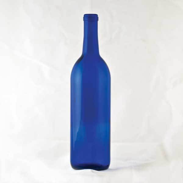 750 ml Cobalt Claret bottles