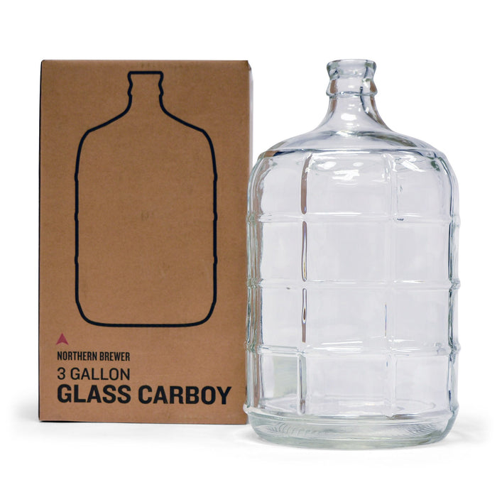 3 Gallon Carboy with Box for Fermenting