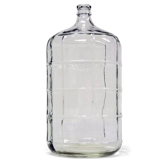 6 Gallon clear Glass Carboy for Beer & Wine