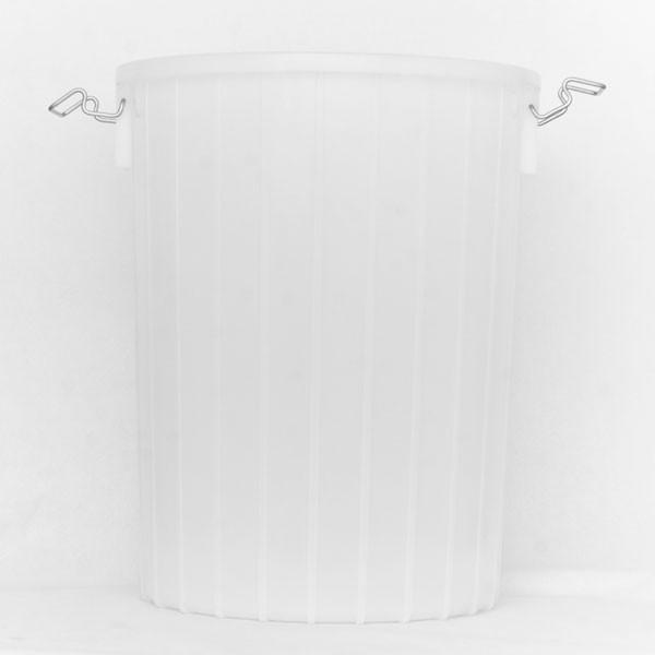 Opaque white twenty Gallon Fermentor without a lit